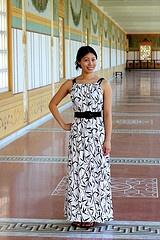 Vestido de verano muy fácil (de Burda) / Easy summer dress (Burda)