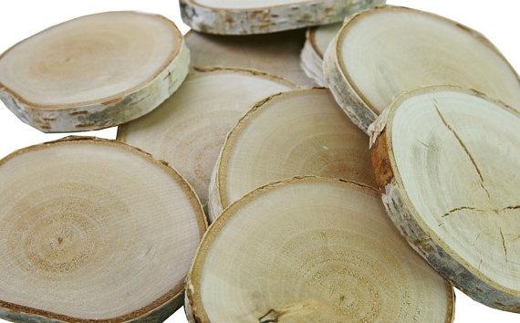 rondelles en bois brut bouleau sur etsy lecoindubois du bois pinterest etsy. Black Bedroom Furniture Sets. Home Design Ideas