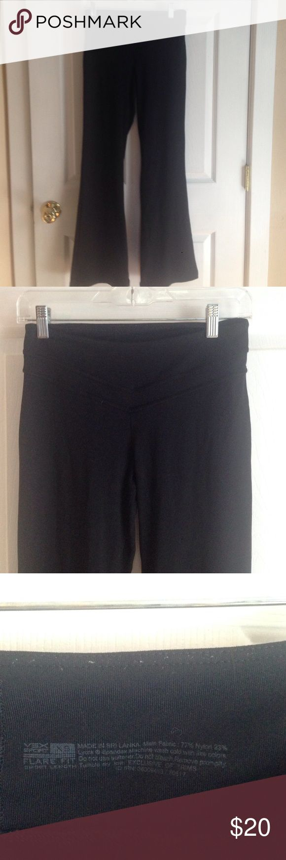 Victoria Secret Spandex Flare Fit Pants Flare fit, Victoria Secret Spandex pants.  Comfy for daily wear it gym wear. Victoria's Secret Pants