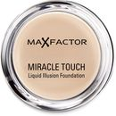 Max Factor Miracle Touch Foundation - Natural Achieve a flawless complexion with the Miracle Touch Foundation from Max Factor. With a unique solid-to-liquid formula that blends effortlessly for a long-wearing, streak-free finish, the lightweight  http://www.MightGet.com/january-2017-12/max-factor-miracle-touch-foundation--natural.asp