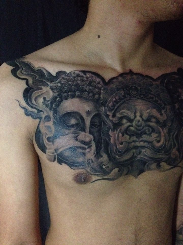 Neo thai style.tattoo by tong