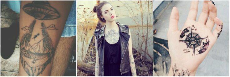 Татуировки звуковой вектор. Психология статья