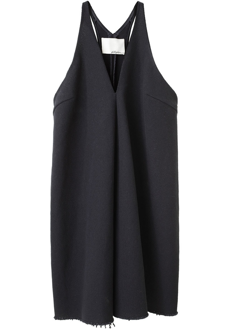 Minimal + Classic: 3.1 Phillip Lim dress, love the raw hem detail