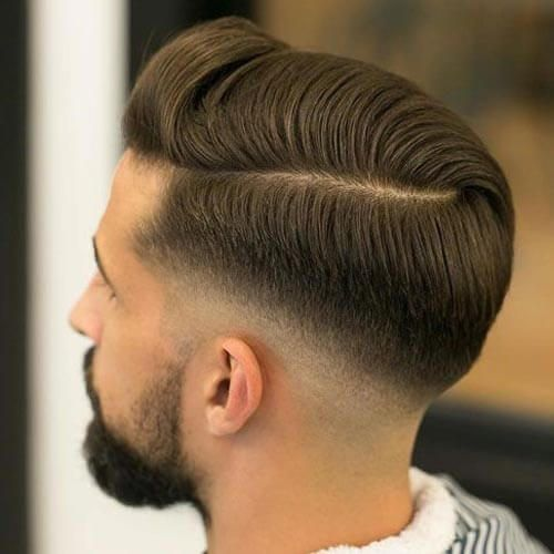 Comb Over with Low Skin Fade - Low Fade Haircut