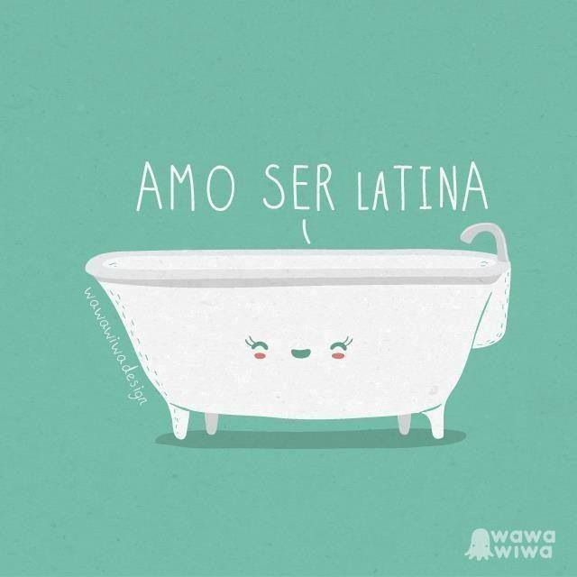 Amo ser latina - Happy drawings :)