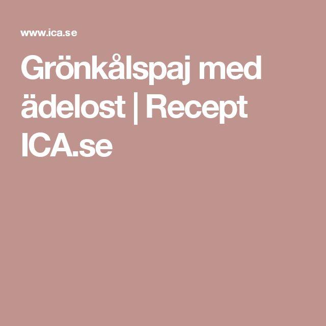Grönkålspaj med ädelost | Recept ICA.se