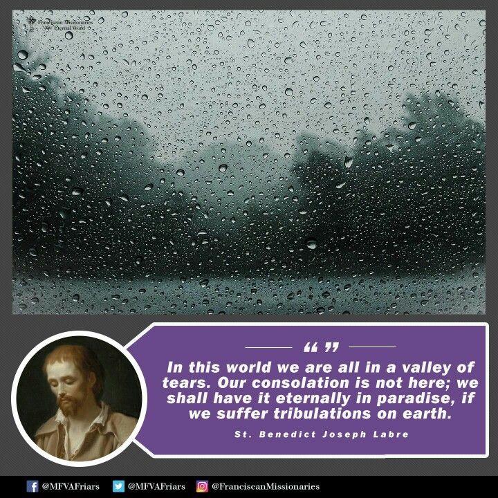 ~St. Benedict Joseph Labre