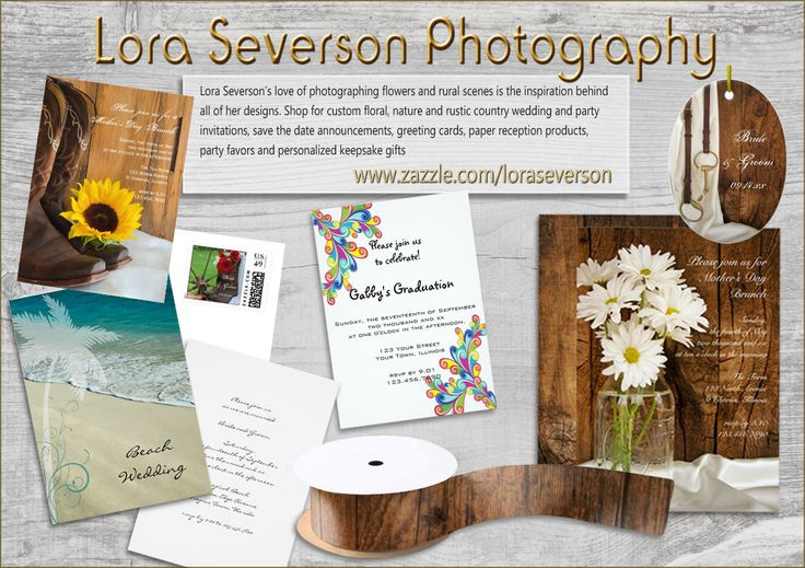 Rustic Country Weddings and Occasions Stationary and Accessories