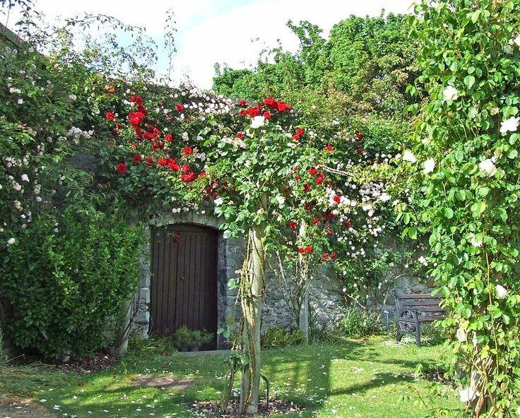 Old garden gates & walls: Ardgillan Castle, Garden Portals, Outdoor Ideas, Garden Ideas, Garden Walls, Old Garden Gates, Heavenly Garden