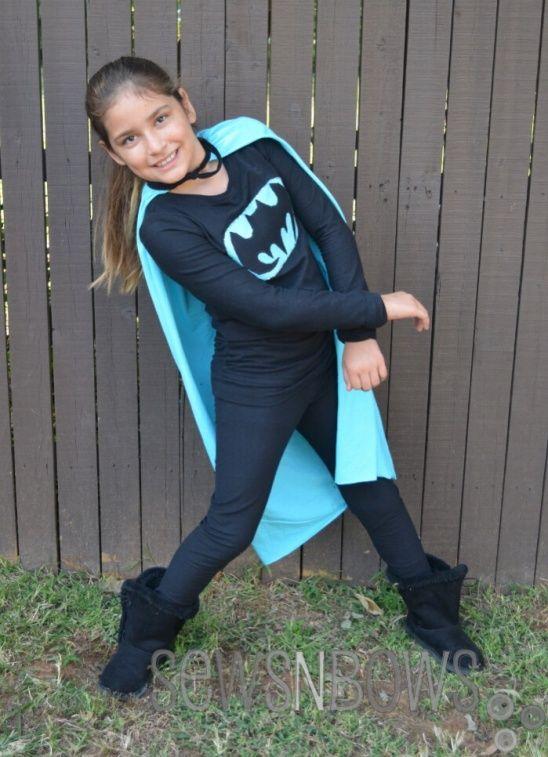 Girls Batman Costume by Amy Mayen