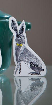little rabbit-magnet