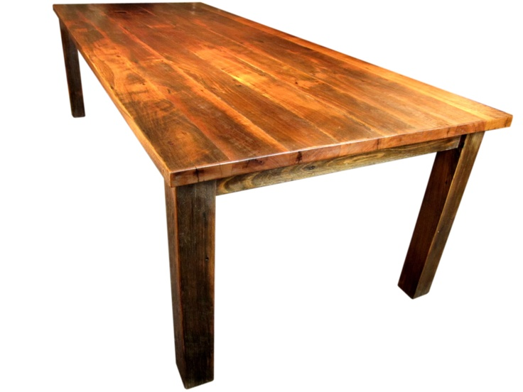 Rustic Bakers Table Eclipse Handcrafted Dining Tables