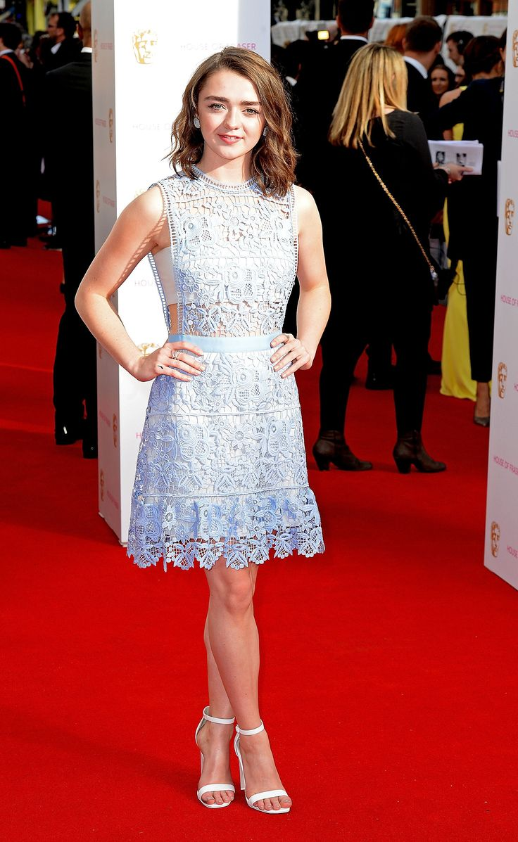Maisie Williams in Self-Portrait (21st BAFTA Television Awards)