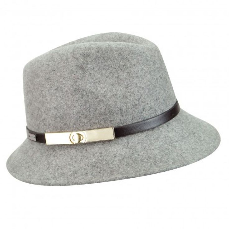 Betmar Darcy - Women's Fedora Hat $65.00  It's a perfect match. Inspired by the 1930s menswear fashion trend, the Darcy from Betmar New York is a chic fedora that is love at first sight. Worn by vintage film stars like Ingrid Bergman, fedoras have come back full swing in women's fashion. The classically shaped Darcy has an updated leather hat band with a golden clasp at the side to give it designer appeal. The style is lined for a cool and comfortable wear.