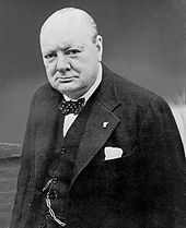 Winston Churchill often wore a polka dot bow tie.  Check out this Wikipedia page on famous bow tie wearers of the 19th, 20th, and 21st centuries.