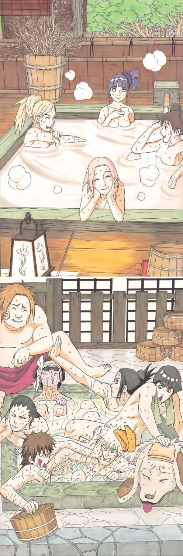 NARUTO SHIPPUDEN, Ino, Hinata, Tenten, Sakura, Choji, Shino, Neji, Rock Lee, Shikamaru, Naruto, Kiba & Akamaru