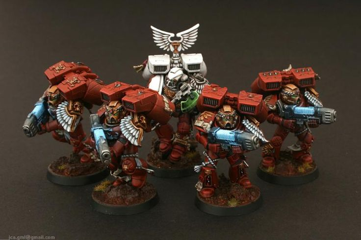Assault Marines, Blood Angels, Honor Guard, Jca, Plasma, Sanguinary