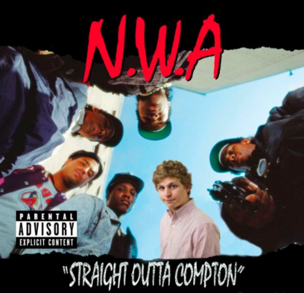 Straight Outta Compton | Michael Cera Album Covers | Know Your Meme  Michael Cera Album Covers refers to a series of photoshop album cover parodies that place comedic actor Michael Cera on the cover of various popular music albums, similar to Kendrick Lamar 'Damn' Album Covers.