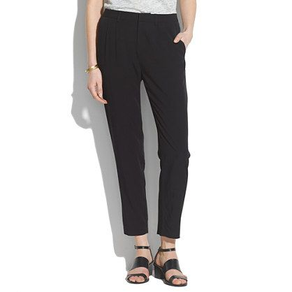 Delancey Slouch Trousers - pants - Women's PANTS & SHORTS - Madewell