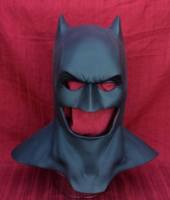Hey, I found this really awesome Etsy listing at https://www.etsy.com/listing/231117218/batman-cowl-dawn-of-justice-doj-cowl-and