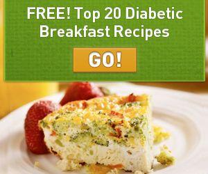 FREE Diabetic Recipe Book!