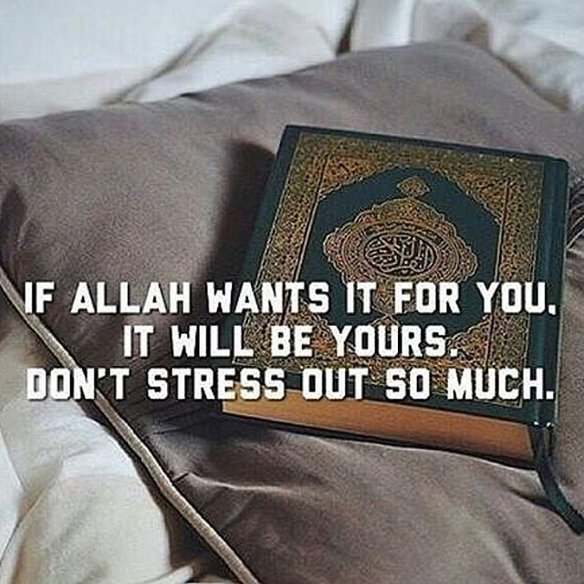Whatever Allah has written for you, only that will reach you. Nothing more, nothing less.