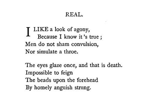 How to write a poem like emily dickinson