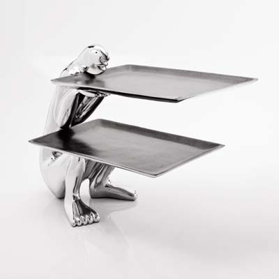 CANTILEVER PLATTER-crouching
