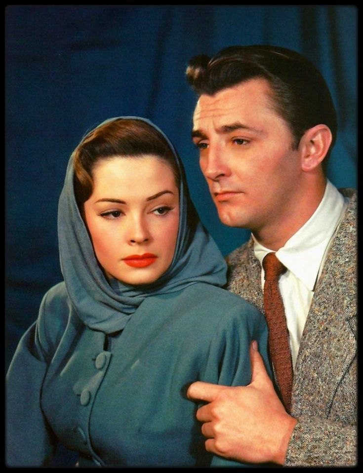 Jane Greer and Robert Mitchum - Out of the Past