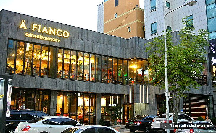 :: [대전/노은동]인테리어 독특한 카페 A FIANCO(아피안코)
