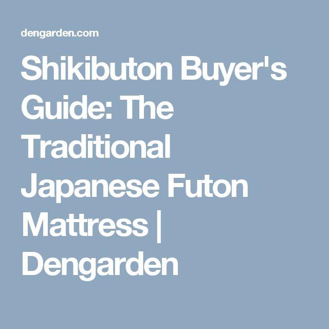 Shikibuton Buyer's Guide: The Traditional Japanese Futon Mattress | Dengarden