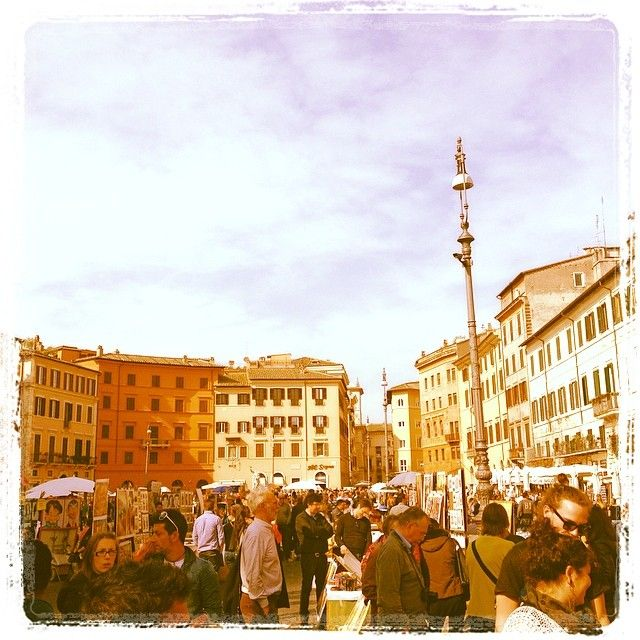 Navona square, Rome