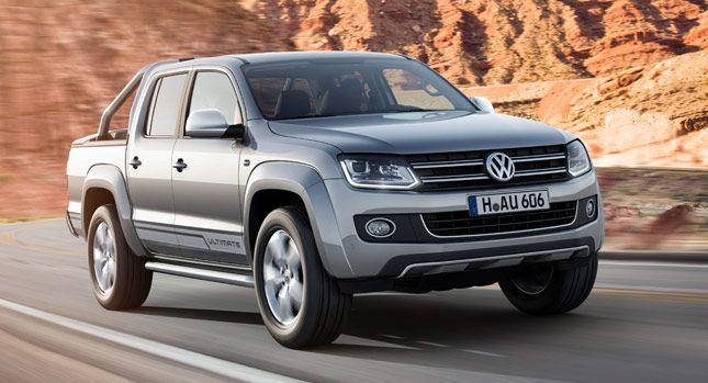VW Launches Range-Topping Amarok Ultimate with Bi-Xenon Headlights and LED DRLs - Carscoops
