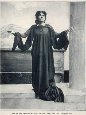 Eleonora Duse (1858-1924) Photographic Print at AllPosters.com