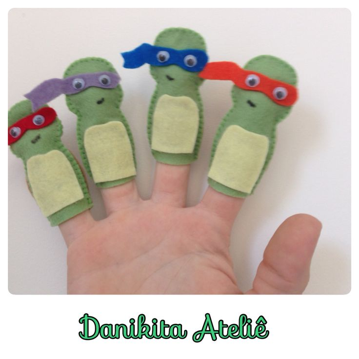 Dedoches Tartarugas Ninjas