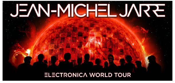 Tournée mondiale de Jean-Michel Jarre : Electronica Tour, à Cardiff ce soir