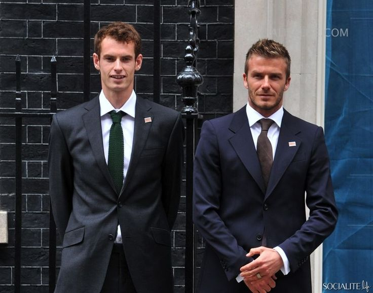 David Beckham and Andy Murray 'Malaria No More' Charity Campaign In London 7