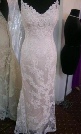 New With Tags Casablanca Wedding Dress 1975, Size 4 in loooove