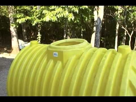A 500 gallon septic tank for a cache or small underground shelter. - You can always hide out in your septic tank. (Provide ventilation and protect small children and pets