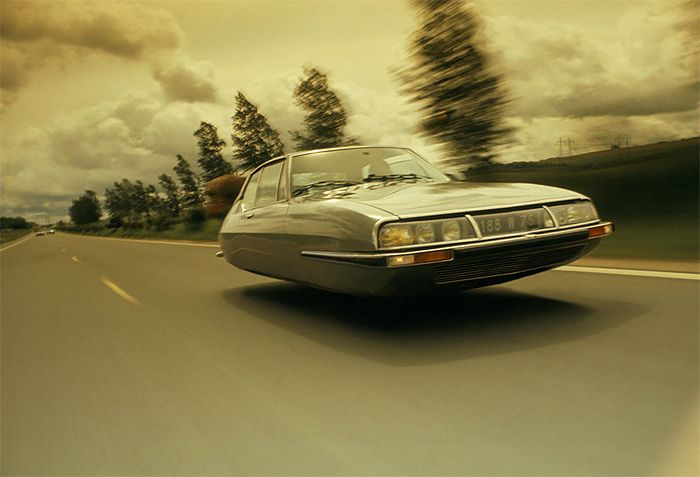 Flying Citroën Cars by Jacob Munkhammar | Inspiration Grid | Design Inspiration