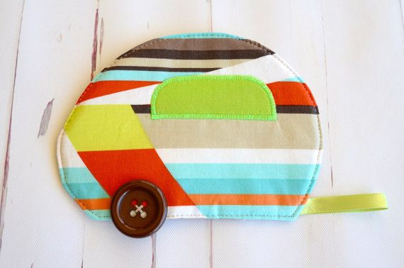 Retro coaster set caravan mug rug green by RobynFayeDesigns