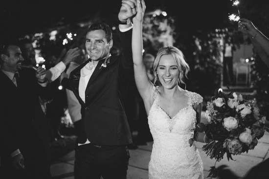 Brittany & Adam's Romantic Summerlees Estate Wedding
