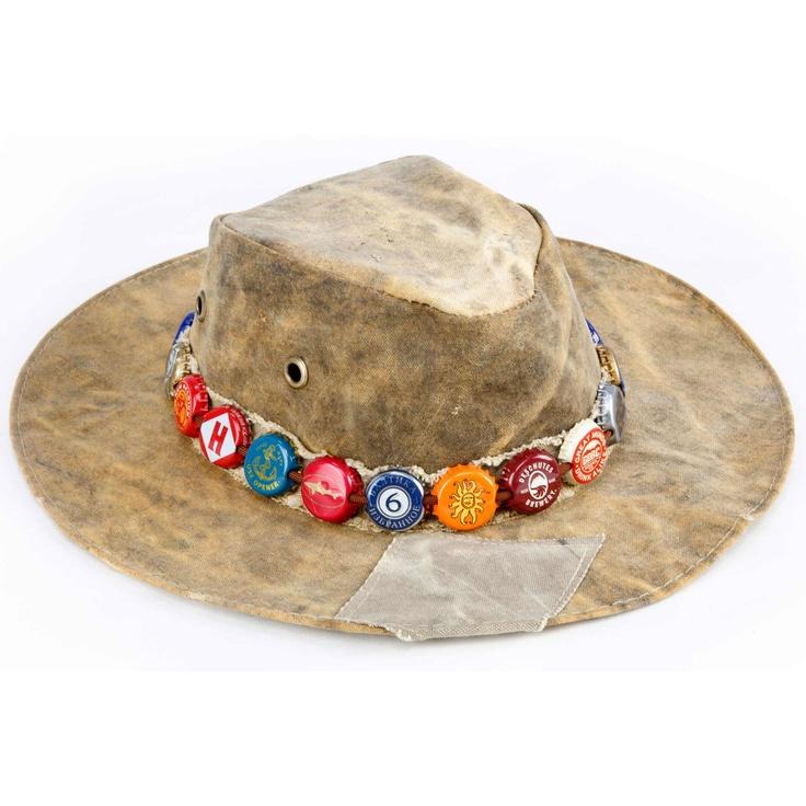 20 best images about hat band ideas on pinterest for Bottle cap hat diy