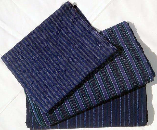 handwoven indigo stripe fabric from Zhouzhuang: Indigo Stripes, Indigo Concept, Indigo Dreamers, Handwoven Indigo, Growing Indigo