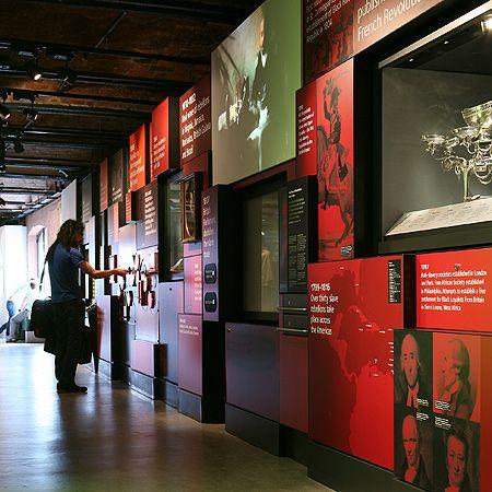 International Slavery Museum Liverpool | Redman Design Ilkley UK
