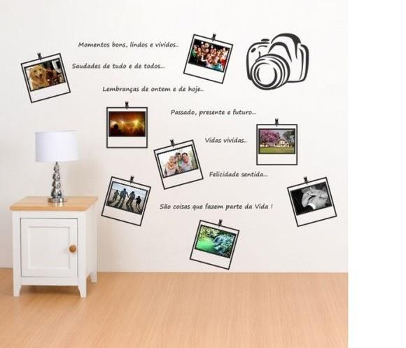 17 melhores imagens sobre mural de fotos no pinterest for Mural pared personalizado