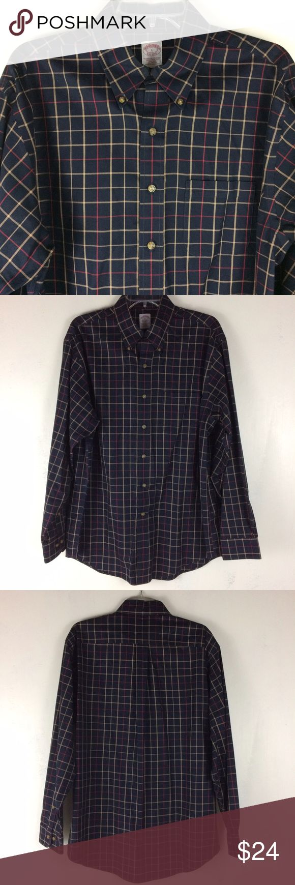 Brooks Brothers Shirt L Brooks Brothers Shirt. Size L. Excellent condition. Brooks Brothers Shirts Casual Button Down Shirts