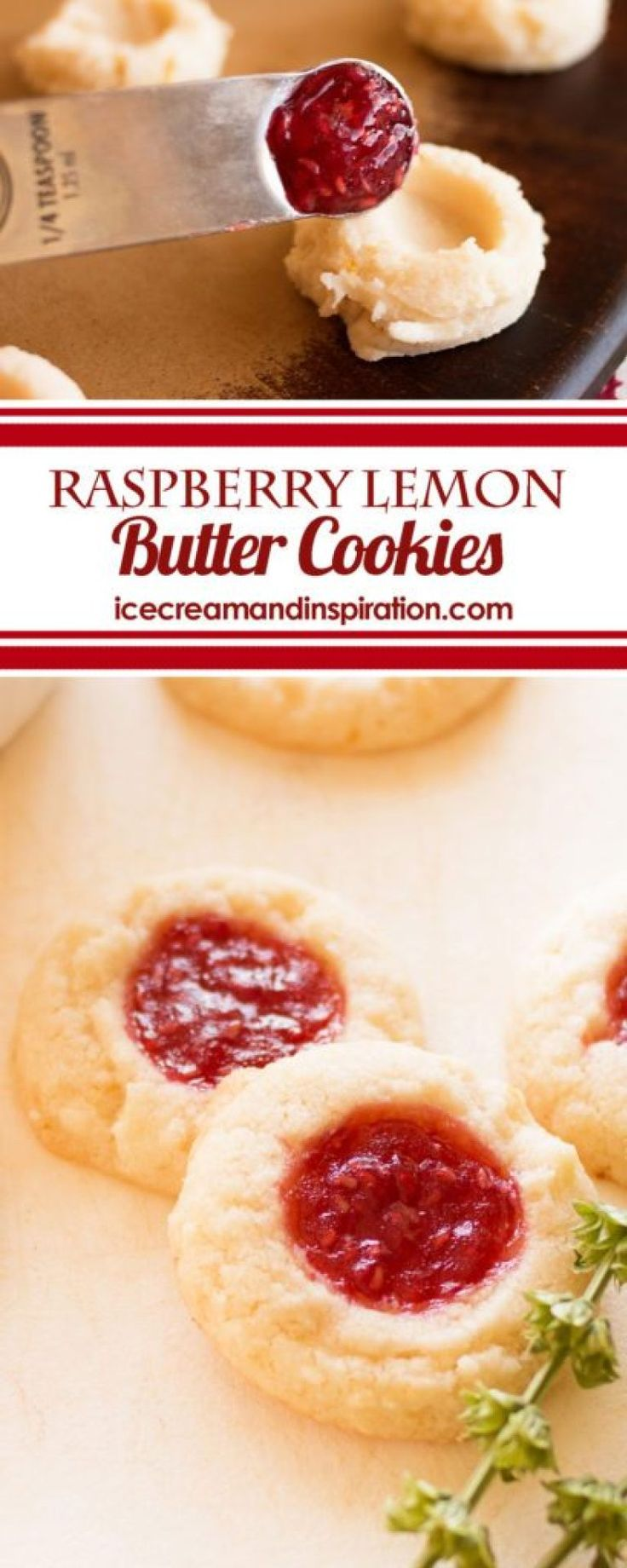 Raspberry Lemon Butter Cookies – Beautiful Life and Home