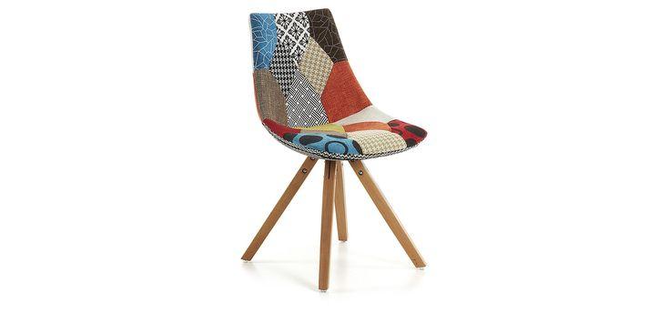 chaise avenue patchwork c est le moment des tendances do. Black Bedroom Furniture Sets. Home Design Ideas