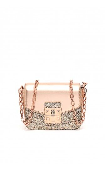 Liu Jo - Crossbody Bags - 'SIFNO' CROSSBODY BAG WITH GLITTER
